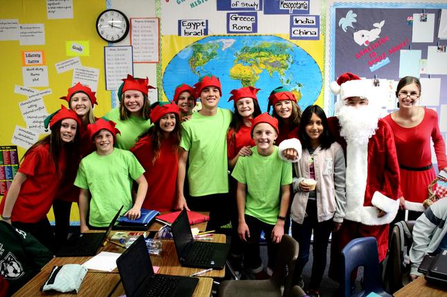 Santa and Friends Brings Surprises to TMS